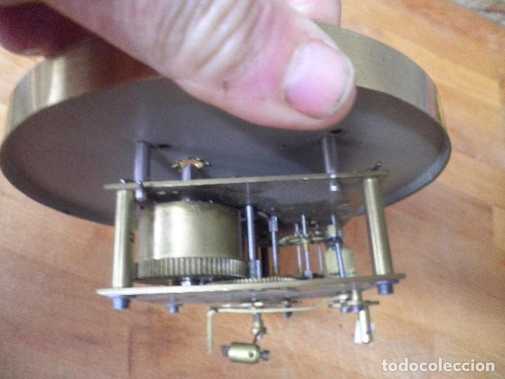 Recambios de relojes: antigua maquinaria DEP-ALEMANIA- PARA RELOJ DE PARED O ALFONSINO- año 1920- lote 326 - Foto 4 - 228100845