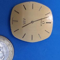 Recambios de relojes: ESFERA Y MOVIMIENTO OMEGA QUARTZ DE VILLE. Lote 228806225