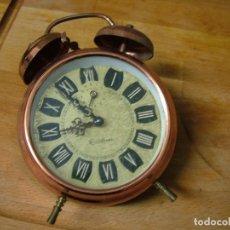 Recambios de relojes: ANTIGUO DESPERTADOR PARA PIEZAS- LOTE 326. Lote 228881545
