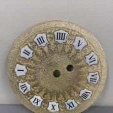 Recambios de relojes: ESFERA RECAMBIO DE RELOJ. ANTIGUA ESFERA HECHA EN FABRICA ESPAÑOLA VIOLA.. Lote 213270485