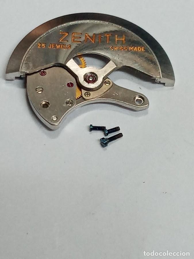 ZENITH - 2542 PC - AUTOMÁTICO COMPLETO RDAS. DE CARGA Y MASA - 2 FOTOS - (CD-6570) (Relojes - Recambios)