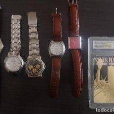 Recambios de relojes: LOTE RELOJES Y CARTA WCG WORLD TRADE CENTER. Lote 230995255
