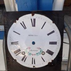 Recambios de relojes: ESFERA DE RELOJ MOREZ DEL SIGLO XIX. Lote 231399645