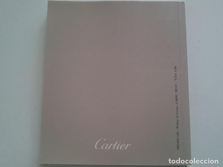 Recambios de relojes: Estuche Funda Insert + Certificado y Manual de Instrucciones Reloj Cartier France Francia - Foto 9 - 234889975