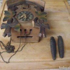 Recambios de relojes: ANTIGUO RELOJ DE CUCO PARA RESTAURAR O PIEZAS- AÑO 1920- LOTE 344. Lote 235054600