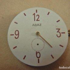Recambios de relojes: ESFERA Y MOVIMIENTO ZIM 2602. Lote 235273515
