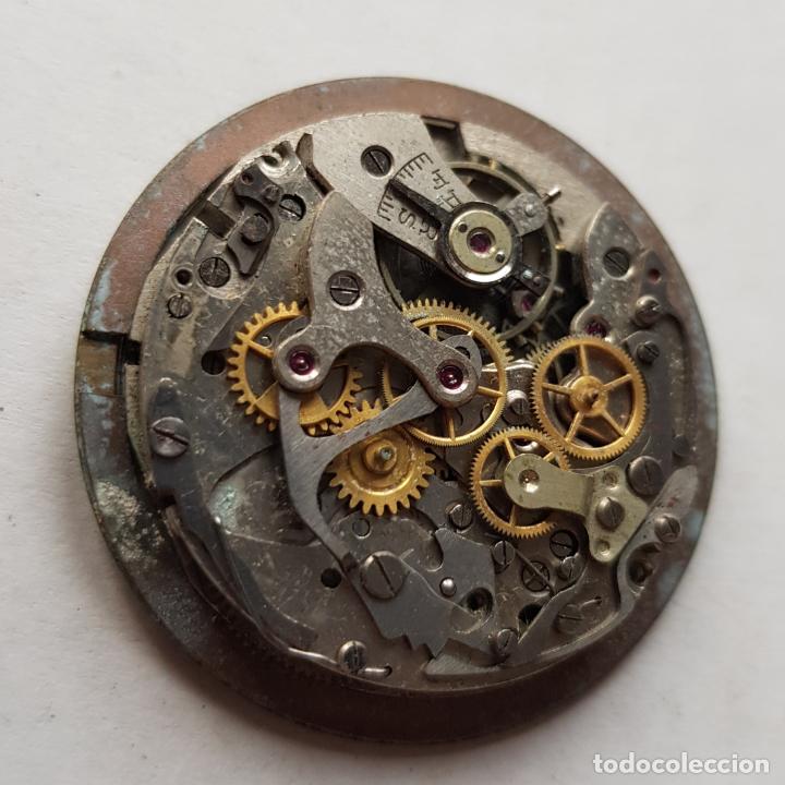 Recambios de relojes: CHRONOGRAPHE SUISSE CRONOGRAFO MECANICO CALIBRE + ESFERA 34MM + AGUJAS - Foto 3 - 235719090