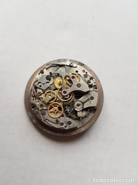 Recambios de relojes: CHRONOGRAPHE SUISSE CRONOGRAFO MECANICO CALIBRE + ESFERA 34MM + AGUJAS - Foto 10 - 235719090