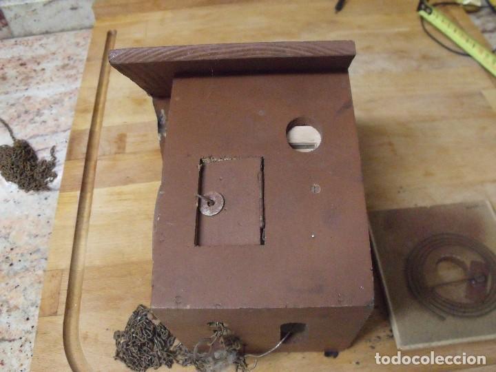 Recambios de relojes: antiguo cuco de madera SELVA NEGRA DE ALEMANIA- lote 349 - Foto 3 - 236237880