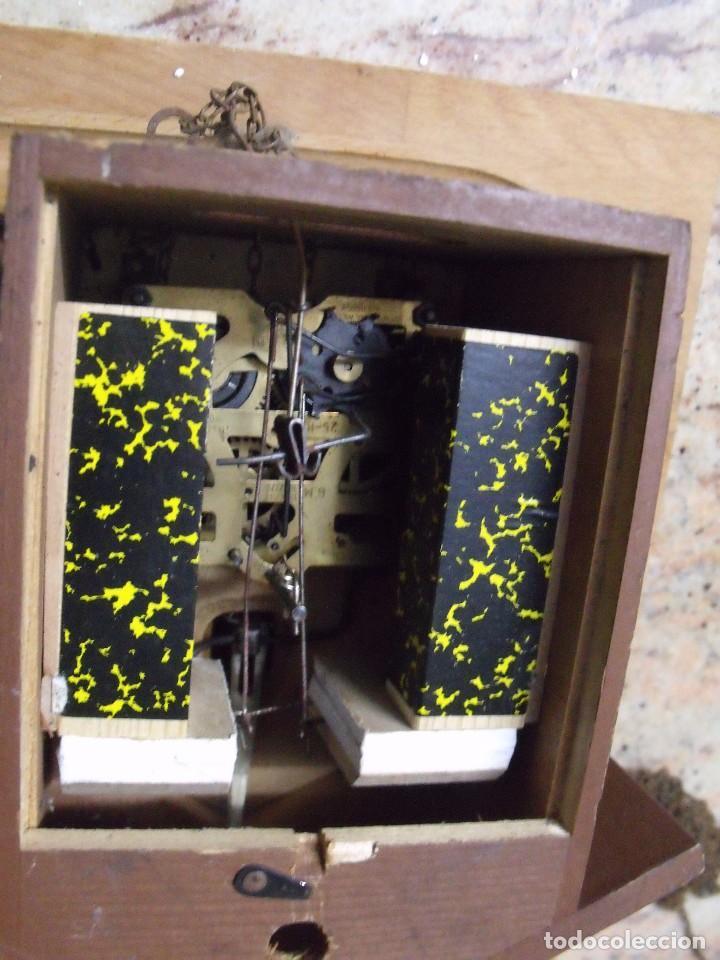 Recambios de relojes: antiguo cuco de madera SELVA NEGRA DE ALEMANIA- lote 349 - Foto 5 - 236237880