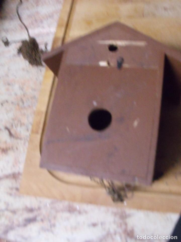 Recambios de relojes: antiguo cuco de madera SELVA NEGRA DE ALEMANIA- lote 349 - Foto 6 - 236237880