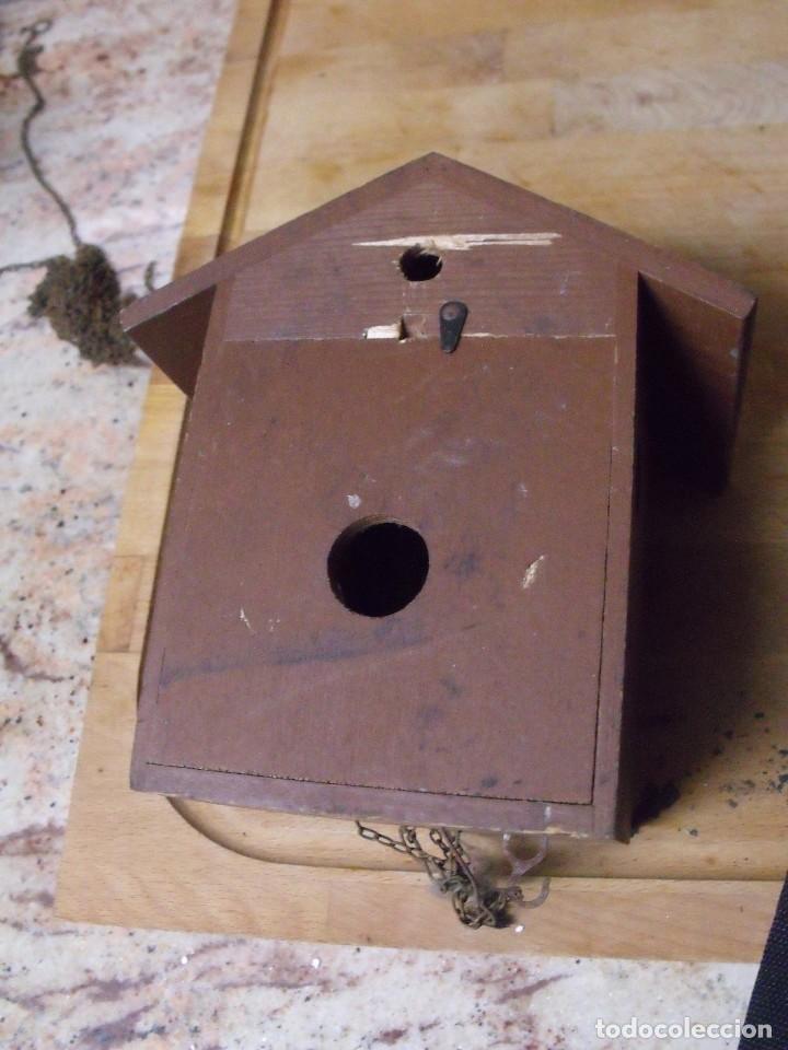 Recambios de relojes: antiguo cuco de madera SELVA NEGRA DE ALEMANIA- lote 349 - Foto 7 - 236237880