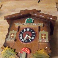 Pièces de rechange de montres et horloges: ANTIGUO CUCO DE MADERA SELVA NEGRA DE ALEMANIA- LOTE 349. Lote 236239895
