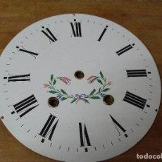 Recambios de relojes: ANTIGUA ESFERA EN PORCELANA PARA OJO BUEY MOREZ LOTE 336. Lote 236894455