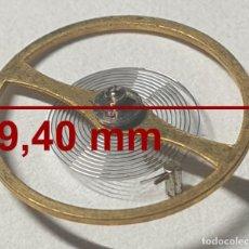 Recambios de relojes: BALANCE COMPLETO RELOJ CITIZEN - 9,40 MM Ø - CALIBRES: 7290. Lote 237599370