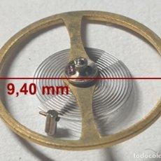 Recambios de relojes: BALANCE COMPLETO RELOJ CITIZEN - 9,40 MM Ø - CALIBRES: 7290. Lote 237599380