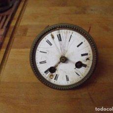 Recambios de relojes: ANTIGUA MAQUINARIA PARIS PARA RELOJ SOBREMESA-AÑO 1870- LOTE 349. Lote 237942830