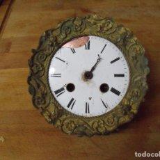 Recambios de relojes: ANTIGUA MAQUINARIA PARIS PARA RELOJ IMPERIO PORTICO-LOTE 352. Lote 238573400