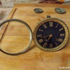 Recambios de relojes: ANTIGUA MAQUINARIA PARIS PARA RELOJ SOBREMESA-AÑO 1870- LOTE 352. Lote 238574355