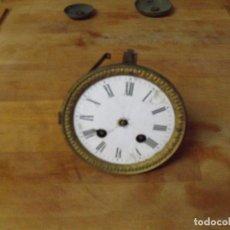 Recambios de relojes: ANTIGUA MAQUINARIA PARIS PARA RELOJ SOBREMESA-AÑO 1870- PARA RESTAURAR O PIEZAS- LOTE 352. Lote 238575395