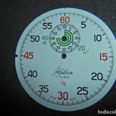 Recambios de relojes: ESFERA CRONÓMETRO HALCON. Lote 239669590