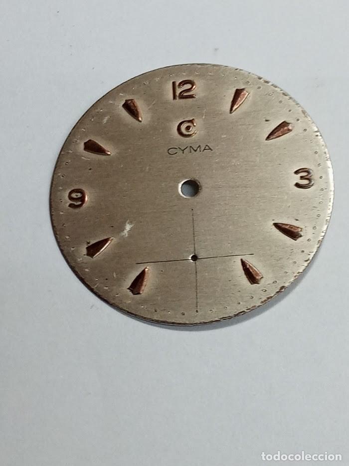 CYMA - 576 - ESFERA ORIGEN - 2 FOTOS (CD-27X66) (Relojes - Recambios)