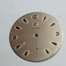 Recambios de relojes: CYMA - 576 - ESFERA ORIGEN - 2 FOTOS (CD-27X66). Lote 240008240