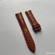 Pièces de rechange de montres et horloges: CORREA DE PIEL PARA RELOJES LONGINES 20MM REGALO. Lote 241755060