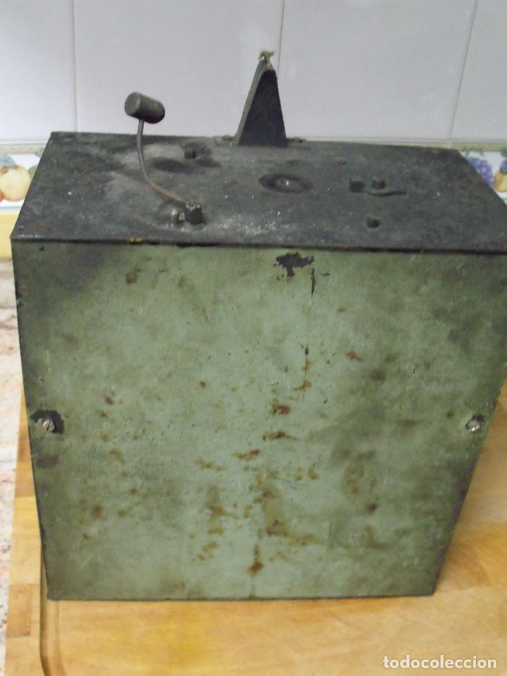 Recambios de relojes: antiquisima maquinaria morez-escape rueda catalina- funcion despertador-año 1860- lote 354 - Foto 5 - 243588185