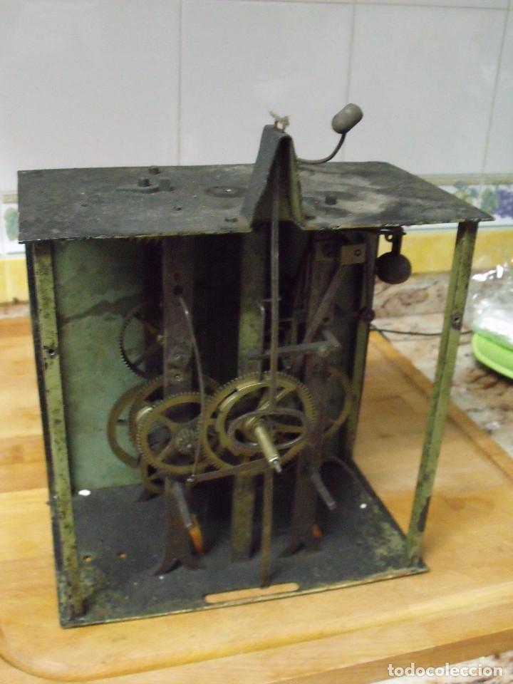ANTIQUISIMA MAQUINARIA MOREZ-ESCAPE RUEDA CATALINA- FUNCION DESPERTADOR-AÑO 1860- LOTE 354 (Relojes - Recambios)