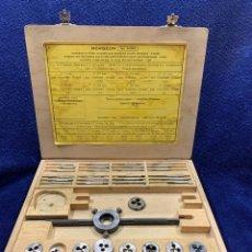 Recambios de relojes: ¡¡GRANDISIMA OFERTA!!! HERRAMIENTA PROFESIONAL BERGEON 30322-SURTIDO COJINETES Y MACHOS. Lote 243833455