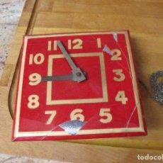 Recambios de relojes: ANTIGUO RELOJ ART-DECO DE PARED DE CADENA-AÑO 1920-30-LOTE 361. Lote 243896290