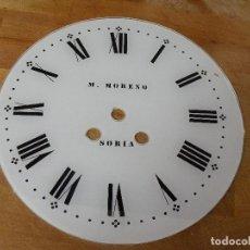 Recambios de relojes: ANTIGUA ESFERA EN CRISTAL PARA OJO DE BUEY MAQUINARIA PARIS-LOTE 364. Lote 244178835