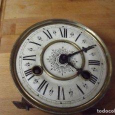Recambios de relojes: ANTIGUA MAQUINARIA KIENZLE DE ALEMANIA-ESTILO ART-NOUVEAU-AÑO 1920-LOTE 368. Lote 246964770