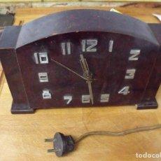 Recambios de relojes: ANTIGUO RELOJ SOBREMESA ELECTRICO- AÑO 1930- LOTE 369. Lote 248202175