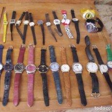 Recambios de relojes: GRAN LOTE DE 24 RELOJES DE PULSERA -LOTE 372. Lote 251007515