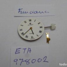 Ricambi di orologi: ETA 978 002. CYMA. Lote 252179010