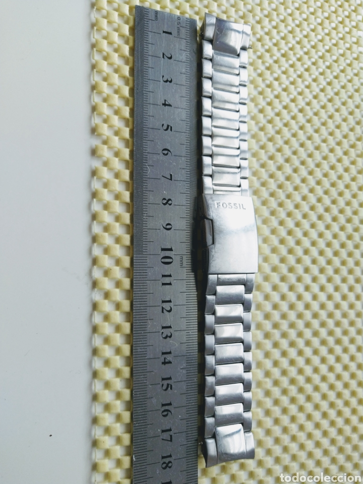 Recambios de relojes: Pulsera Fossil® para reloj (22mm) - Foto 7 - 255028520