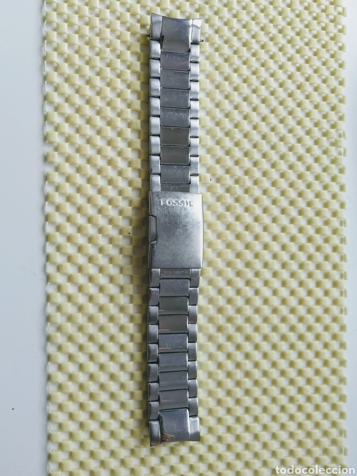 Recambios de relojes: Pulsera Fossil® para reloj (22mm) - Foto 4 - 255028520