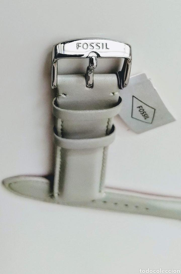 CORREA DE PIEL FOSSIL® 22MM (Relojes - Recambios)