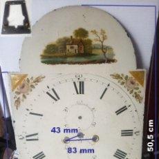 Recambios de relojes: ENGLISH ESFERA DE WALKER, BIRMINGHAM PARA RELOJ DE PIE.. Lote 255942345