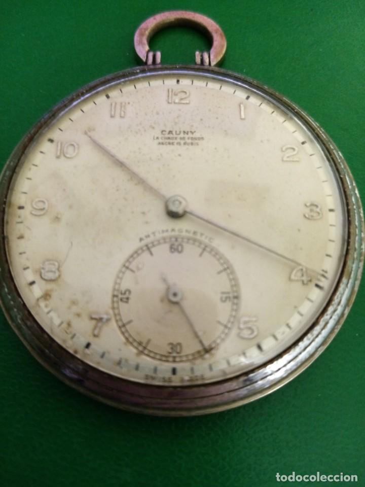 ANTIGUO RELOJ DE BOLSILLO CAUNY (Relojes - Recambios)