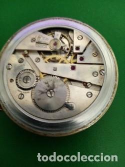 Recambios de relojes: Antiguo reloj de bolsillo CAUNY - Foto 2 - 261101615