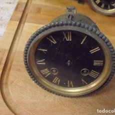 Recambios de relojes: ¡¡GRAN OFERTA!!! ANTIGUA MAQUINARIA PARIS PARA RELOJ SOBREMESA-AÑO 1880-LOTE 391. Lote 261362690