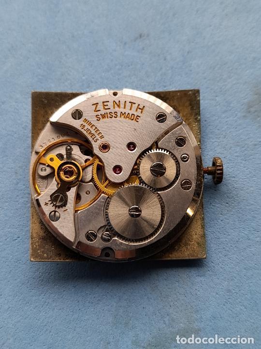 Recambios de relojes: Zenith. Máquina + Esfera para reloj clásico de caballero. Swiss made - Foto 2 - 261590335