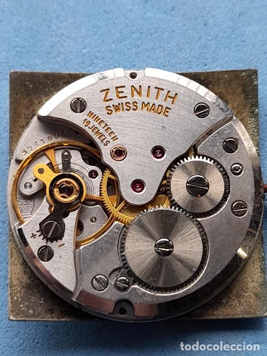 Recambios de relojes: Zenith. Máquina + Esfera para reloj clásico de caballero. Swiss made - Foto 4 - 261590335