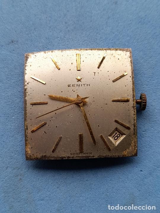 Recambios de relojes: Zenith. Máquina + Esfera para reloj clásico de caballero. Swiss made - Foto 3 - 261590335