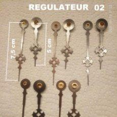 Recambios de relojes: LOTE DE PARES DE AGUJAS REGULADORAS 02 (5X). Lote 262923200