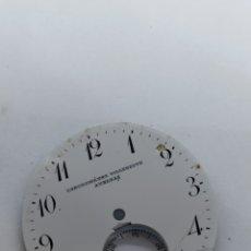 Recambios de relojes: ESFERA RELOJ 43 MM ESMALTE. Lote 263197815