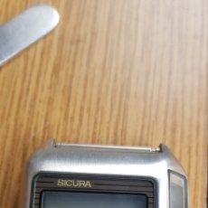 Recambios de relojes: RELOJ SICURA LC SOLAR. Lote 263783670